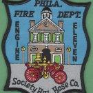 Philadelphia Fire Department Engine Company 11 Patch