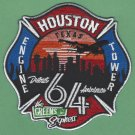 Houston Fire Department Station 64 Company Patch