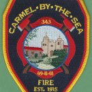 Carmel by the Sea California Fire Patch
