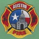 Austin Texas Fire Patch