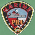Houston Port Authority Texas Marine Fire Boat Patch