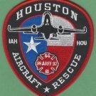 George Bush Intercontinental Airport Fire Rescue Patch ARFF