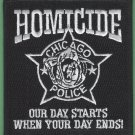 Chicago Illinois Police Homicide Division Patch