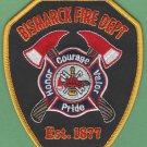 Bismarck North Dakota Fire Rescue Patch