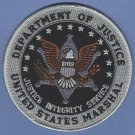 United States Marshal-Department of Justice Police Patch 4""