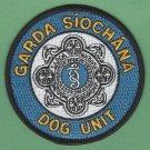 Garda Siochana Police Dog Unit Patch
