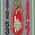 Philadelphia Fire Department Engine 53 Ladder1 27 Company Patch