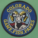 Colorado State Game, Fish & Parks Enforcement Police Patch