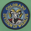 Colorado State Division of Wildlife Enforcement Police Patch