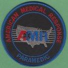 AMR American Medical Response Paramedic Patch