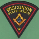 Wisconsin State Police Masonic Lodge Patch