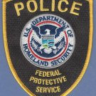 Federal Protective Service-Department of Homeland Security Police Patch Brown