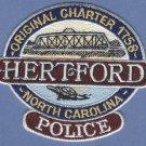 Hertford North Carolina Police Patch