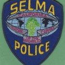 Selma California Police Patch