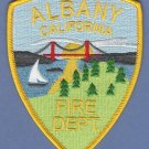 Albany California Fire Rescue Patch