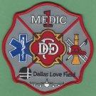 Dallas Love Field Airport Medic 1 Fire Rescue Patch