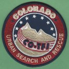 Colorado USAR Urban Search/Rescue Task Force 1 Patch