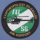 Kantonpolizei St. Gallen Switzerland Police Helicopter Unit Patch