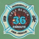 Jacksonville Fire Department Station 36 Company Patch