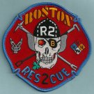 Boston Fire Department Rescue Company 2 Patch