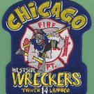 Chicago Fire Department Tower Ladder Company 14 Patch