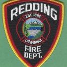 Redding California Fire Rescue Patch