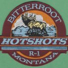 Bitterroot National Forest Region 1 USFS Hot Shot Crew Fire Patch