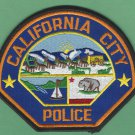 California City California Police Patch