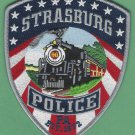 Strasburg Pennsylvania Police Patch Locomotive