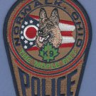 Norwalk Ohio Police K-9 Unit Patch