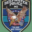 Deepwater Missouri Police Patch