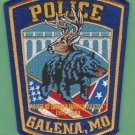 Galena Missouri Police Patch