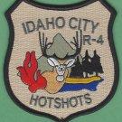 Idaho City Region 4 USFS Hot Shot Crew Fire Patch