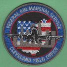 Federal Air Marshal Cleveland Ohio Field Office Police Patch