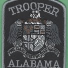 Alabama State Trooper Tactical Gray Police Patch