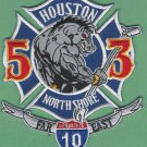 Houston Fire Department Station 53 Company Patch