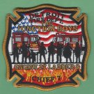 Detroit Fire Department Engine 27 Ladder 8 Company Fire Patch