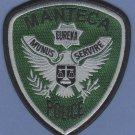 Manteca California Police Tactical Patch