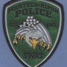 Manteca California Police SWAT Team Patch