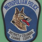 District of Columbia Police K-9 Unit Patch