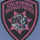 California Highway Patrol Police Patch Pink