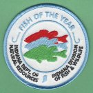 Indiana DNR Division of Fish & Wildlife Patch Fish of the Year