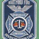 Hartford Fire Department Arson Investigations Unit Patch