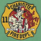 Charlotte Fire Department Engine Company 11 Patch