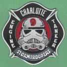 Charlotte Fire Department Engine Company 9 Patch