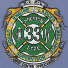 Houston Fire Department Station 33 Company Patch
