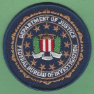 FBI Federal Bureau of Investigation DOJ Seal Patch