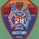 Chicago Fire Department Truck Company 28 Patch
