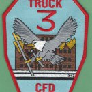 Chicago Fire Department Truck Company 3 Patch
