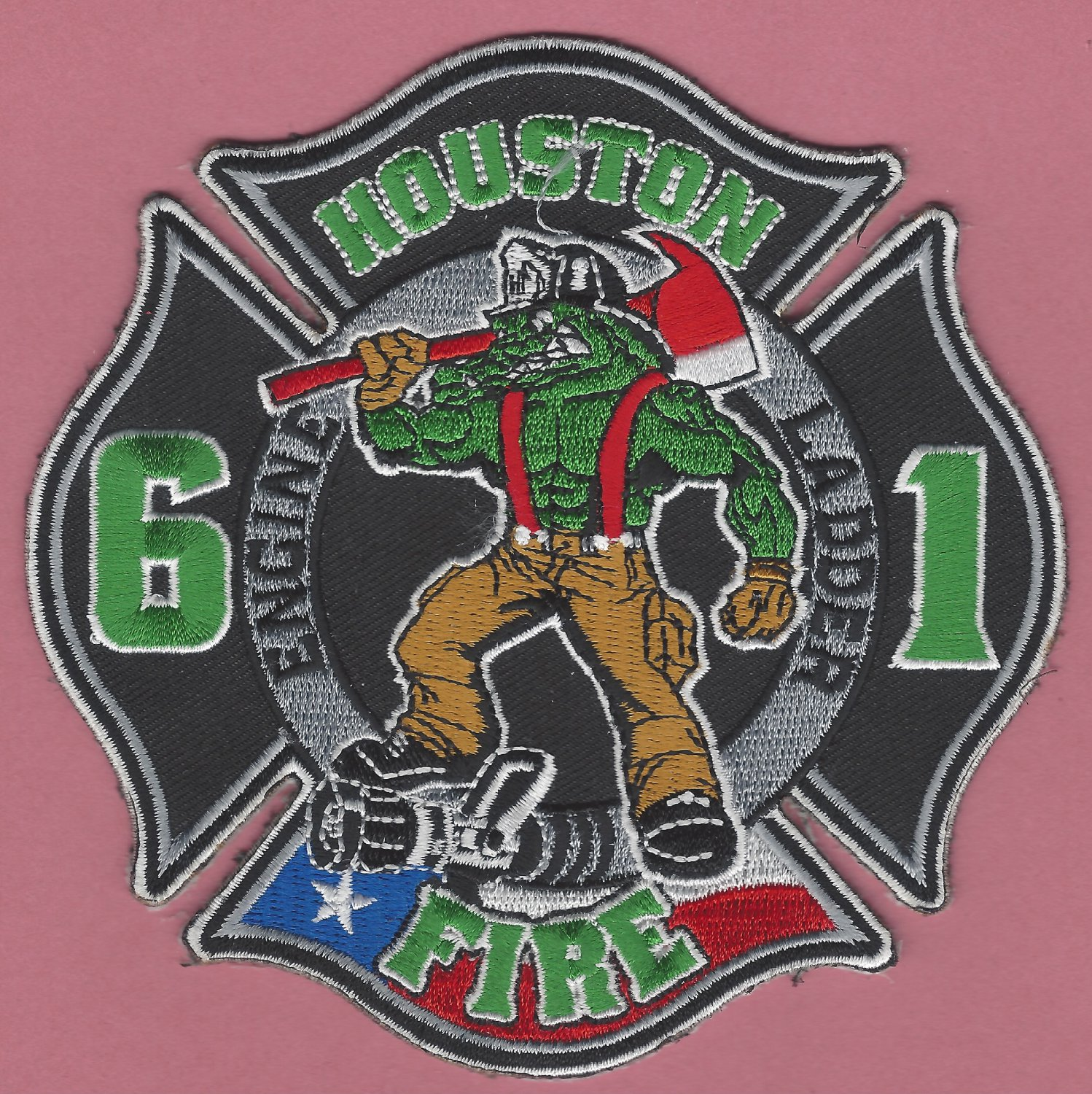 Houston Fire Department Station 61 Company Patch
